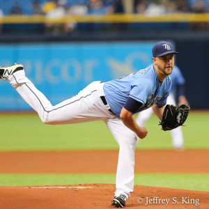 Andries started well, but he lasted only five innings./JEFFREY S. KING