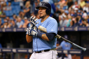 Jesús Sucre has filled in well for Rays./ANDREW J. KRAMER