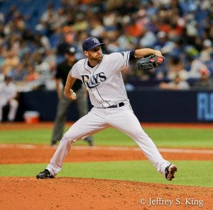 Whitley pitched well in relief./JEFFREY S. KING