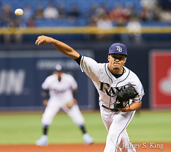 Archer hopes to stop Rays' starters' slump./JEFFREY S. KING