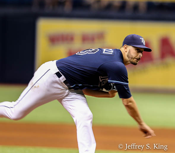 Odorizzi gave up a three-run homer, but nothing else./JEFFREY S. KING