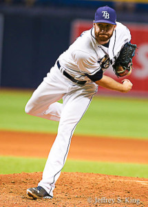 Whitley has been solid out of a leaky bullpen./JEFFREY S. KING