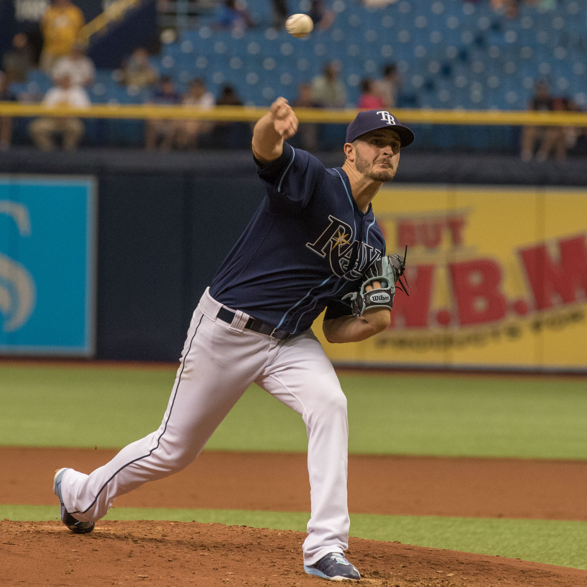 Odorizzi was able to keep the Rays close for awhile../STEVEN MUNCIE