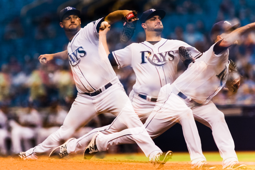 Andries has been one of the Rays' best starters this year./CARMEN MANDATO