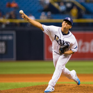 Chih-Wei Hu pitched two thirds of an inning  in front of his parents./CARMEN MANDATO