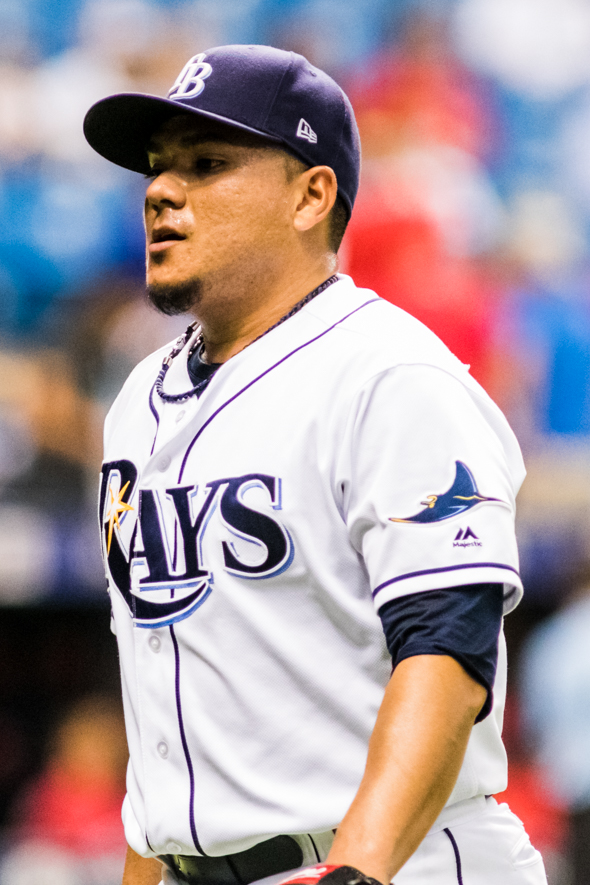 Ramirez had a tough outing for the Rays.CARMEN MANDATO