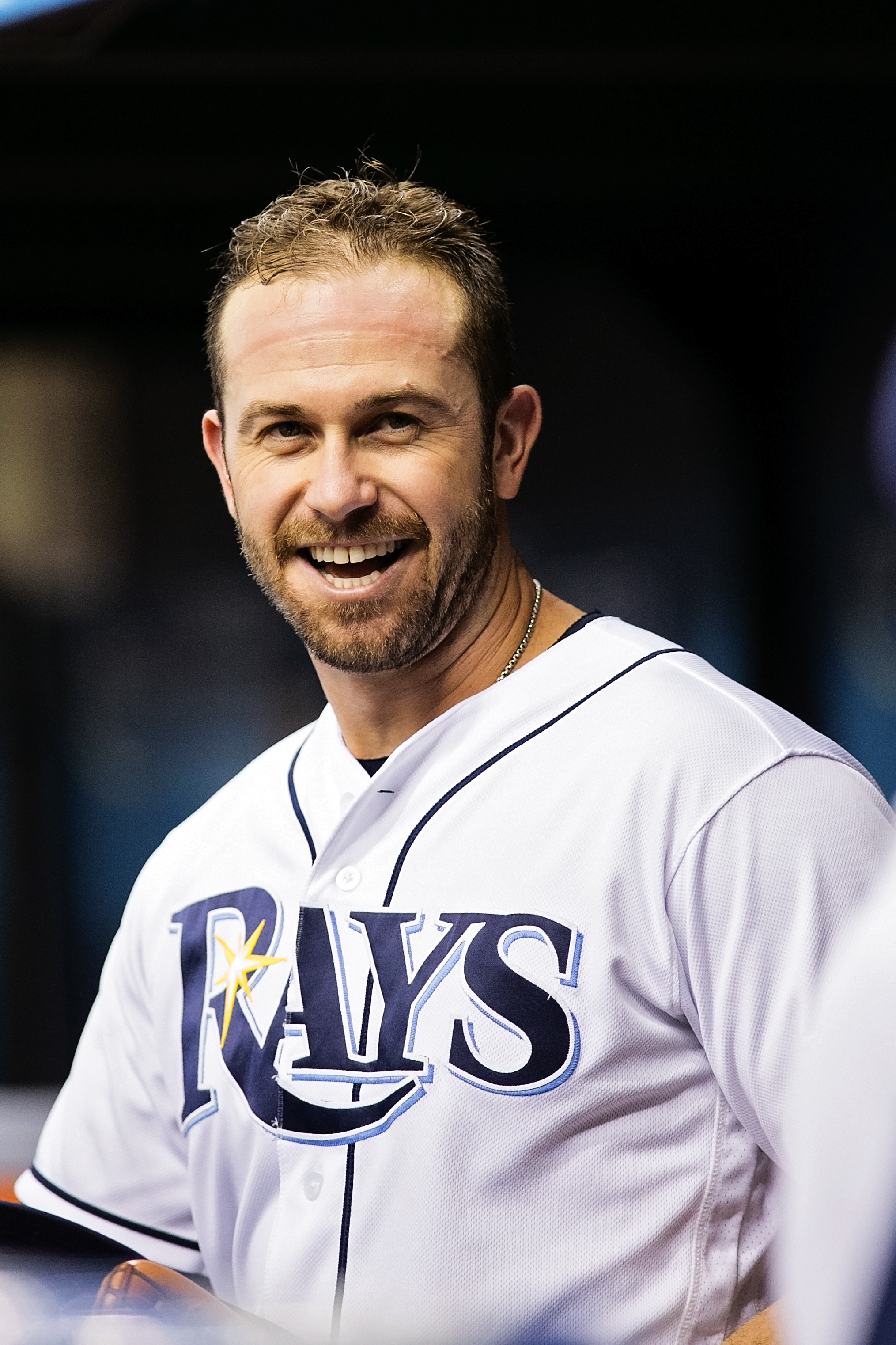 Longoria had two hits for the Rays./CARMEN MANDATO