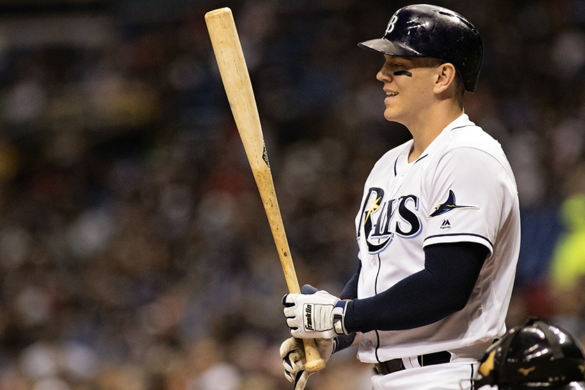 Morrison hit two home runs to lead the Rays./CARMON MANDATO