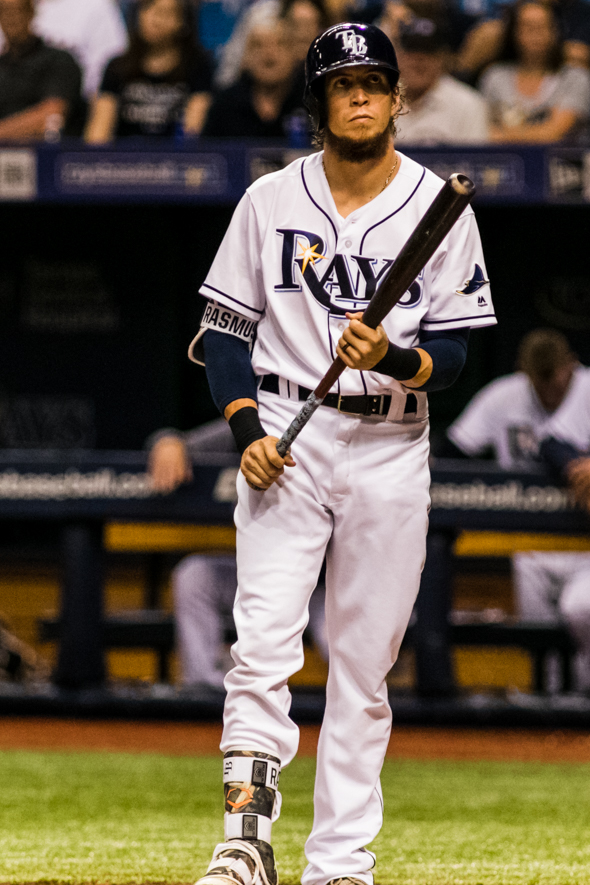 Rasmus has hit five home runs in the month of May./CARMEN MANDATO