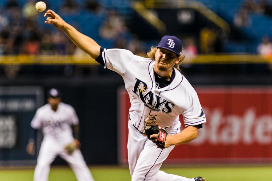 Stanek gave up another  homer for Rays.CARMEN MANDATO