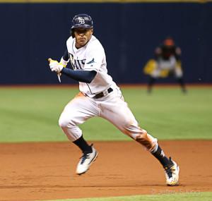 Smith had four hits and scored three runs./CARMEN MANDATO