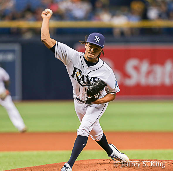 Archer again ended a Rays' losing streak./JEFFREY S. KING