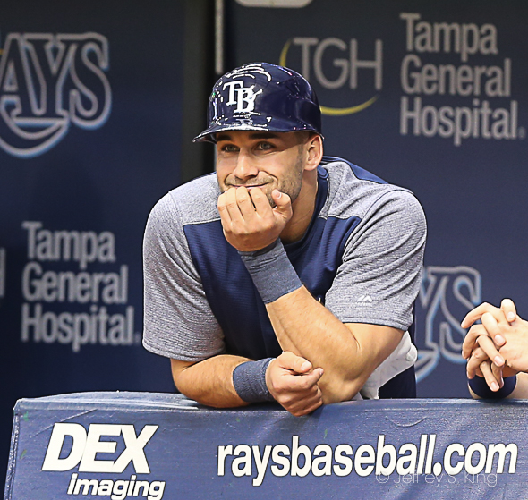 Kiermaier will show something every game../JEFFREY S. KING