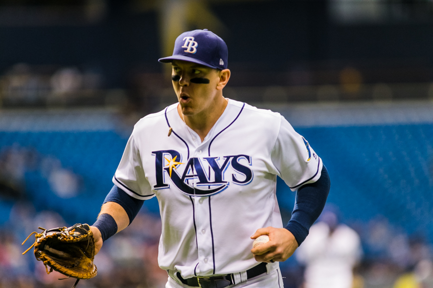 Morrison had a three-run homer to lead the Rays./CARMEN MANDATO