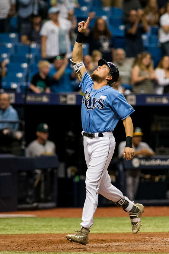 Rasmus tied things with a homer in the sixth./CARMEN MANDATO