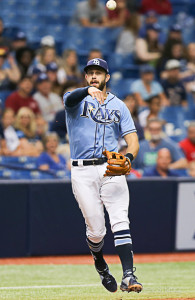 "Longoria thinks it's time for the Rays to start 'something new.""/JEFFREY S. KING"