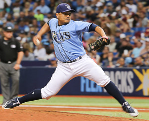 Ramirez pitched well in relief for the Rays./JEFFREY S. KING