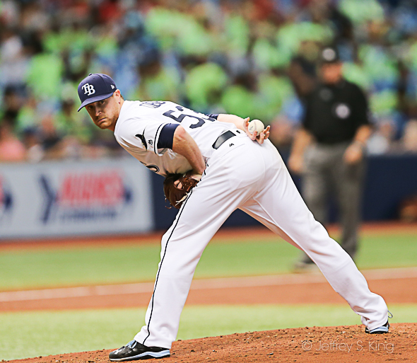 Cobb pitched well again in victory over Orioles./JEFFREY S. KING