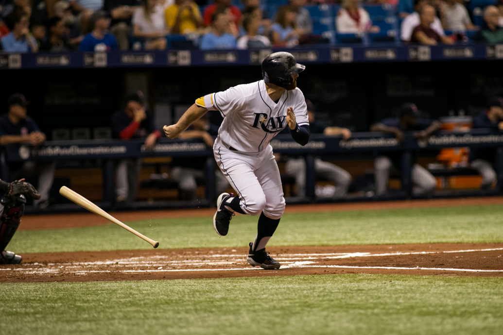 Miller had two hits, two walks, in his return from the disabled list./CARMEN MANDATO
