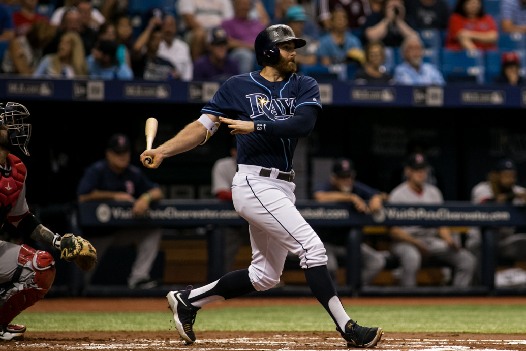Rays want Brad Miller to play second base full time./CARMEN MANDATO