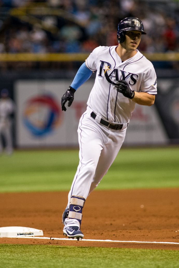 Dickerson needs to get hot again for the Rays./CARMEN MANDATO