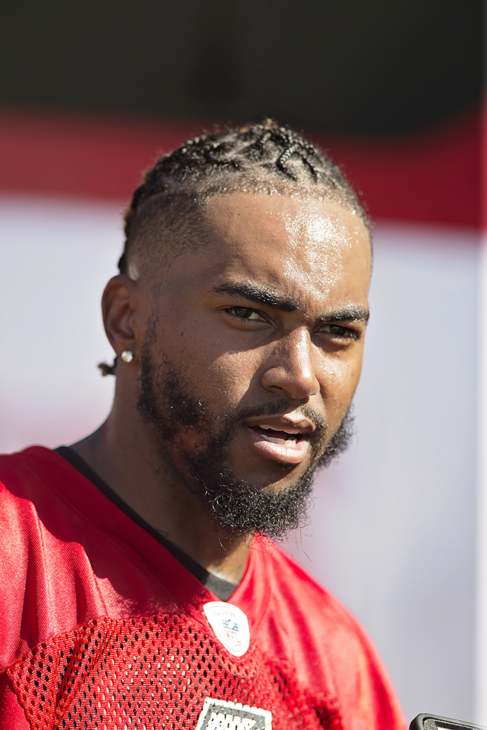 DeSean Jackson leads the Bucs' new weapons./CARMEN MANDATO