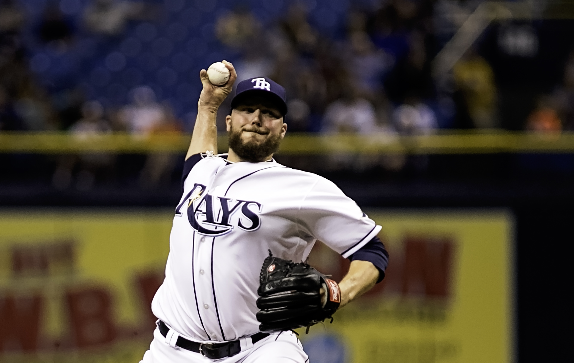 In Tommy Hunter's last 17 appearances, 16 have been scoreless./CARMEN MANDATO