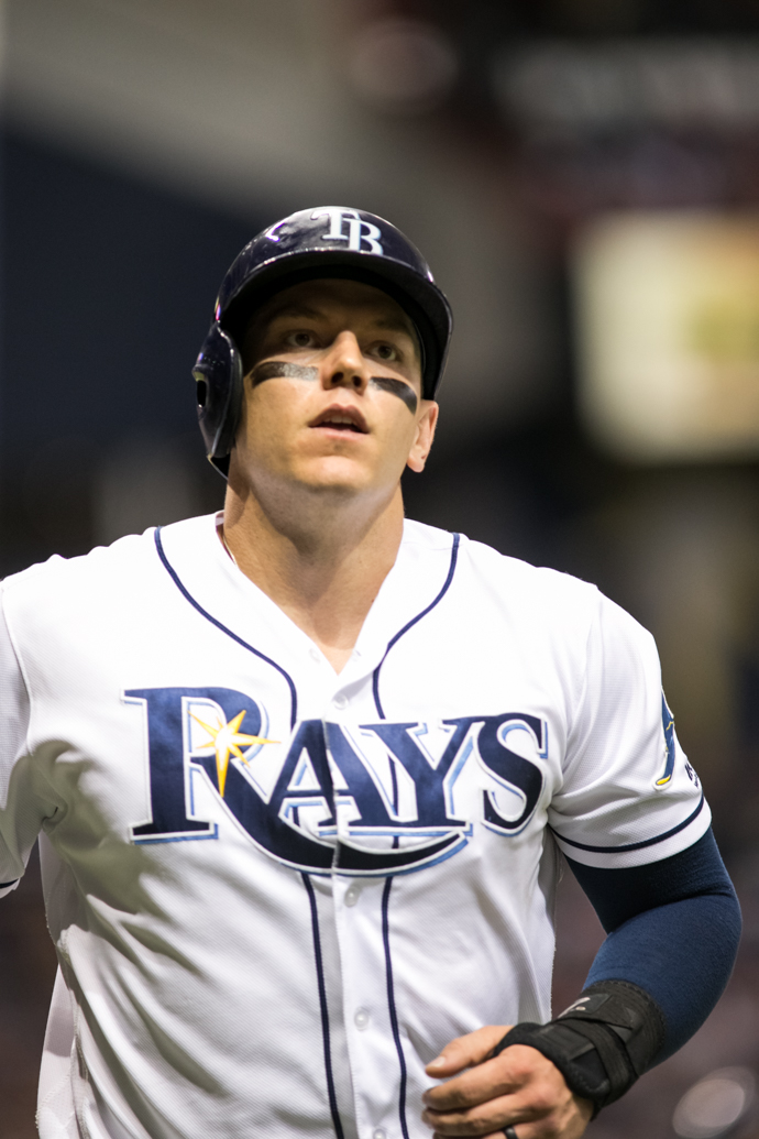 Morrison has 28 home runs for the Rays./CARMEN MANDATO