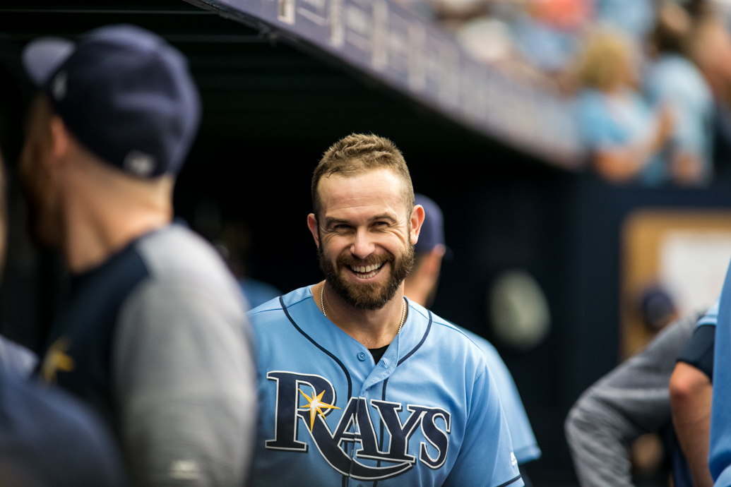 After all these years, Longo still leads the Rays./CARMEN MANDATO