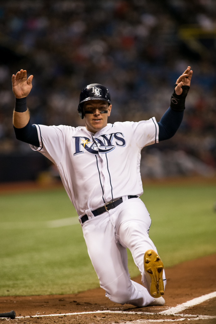 The Rays need for Morrisoin to finish strong./STEVE MUNCIE