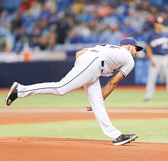 Faria gave. up too many home runs./CARMEN MANDATO