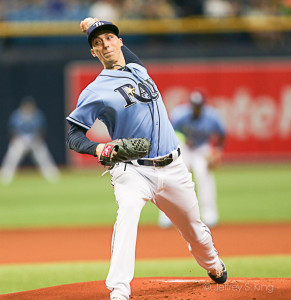 Snell left with a lead, but ended with a no-decision./CARMEN MANDATO