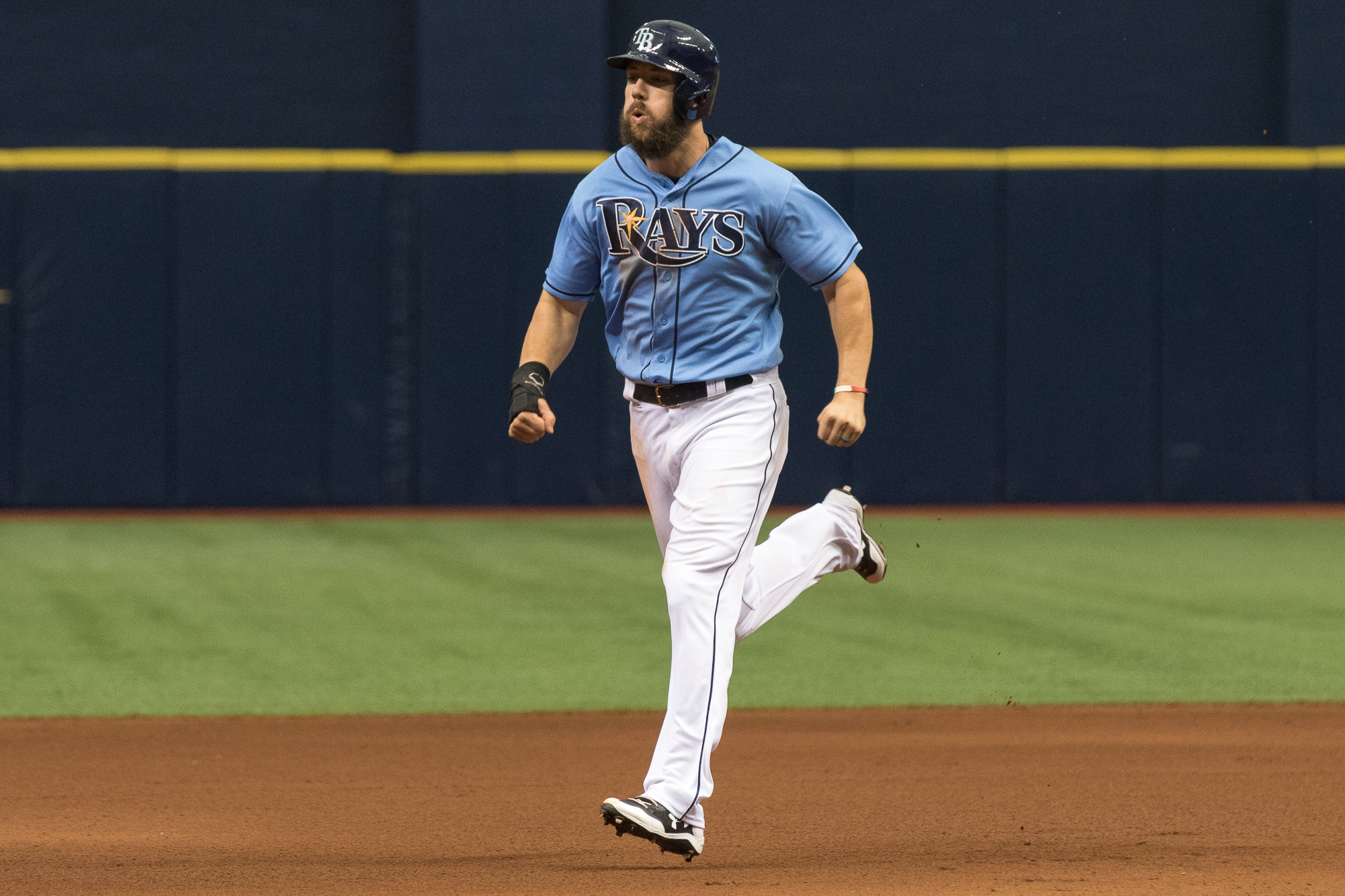 Steven Souza Jr. had two hits for the Rays./STEVEN MUNCIE
