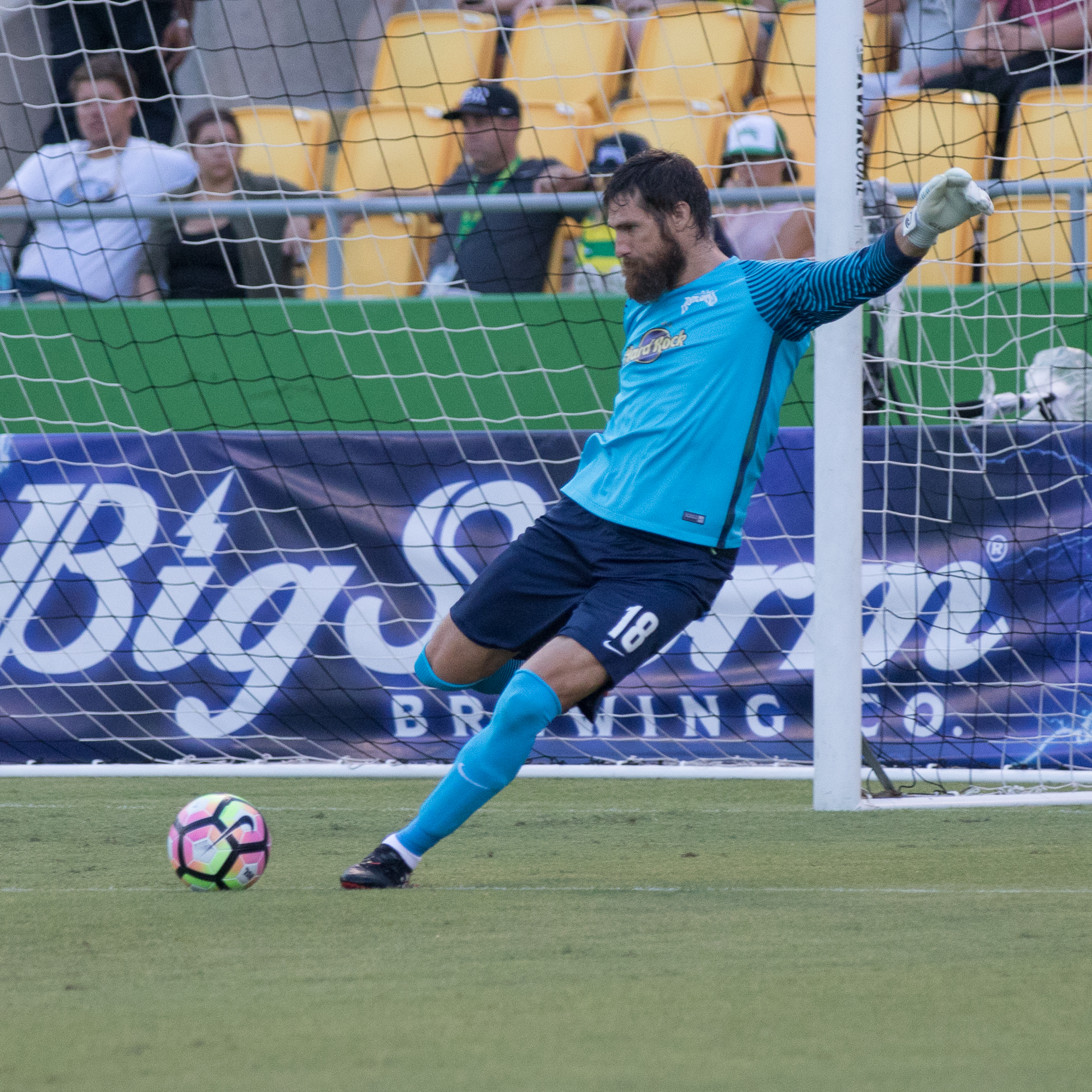 Pickens had another clean sheet in his 100th game./STEVEN MUNCIE