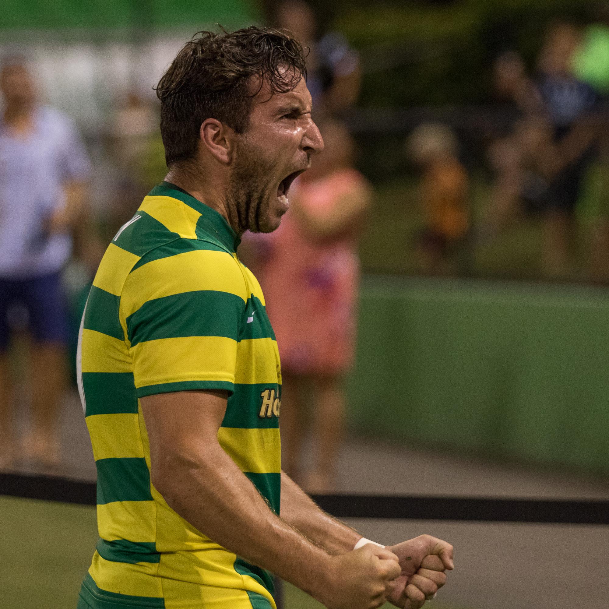 Martin Paterson reacts after scoring./STEVEN MUNCIE