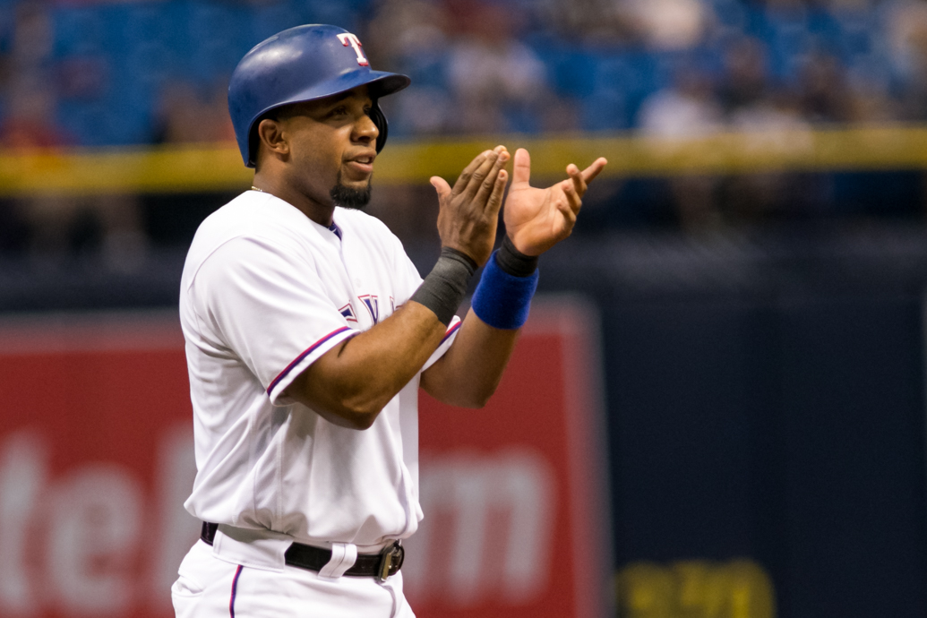 Andrus has had seven hits in two games./CARMEN MANDATO