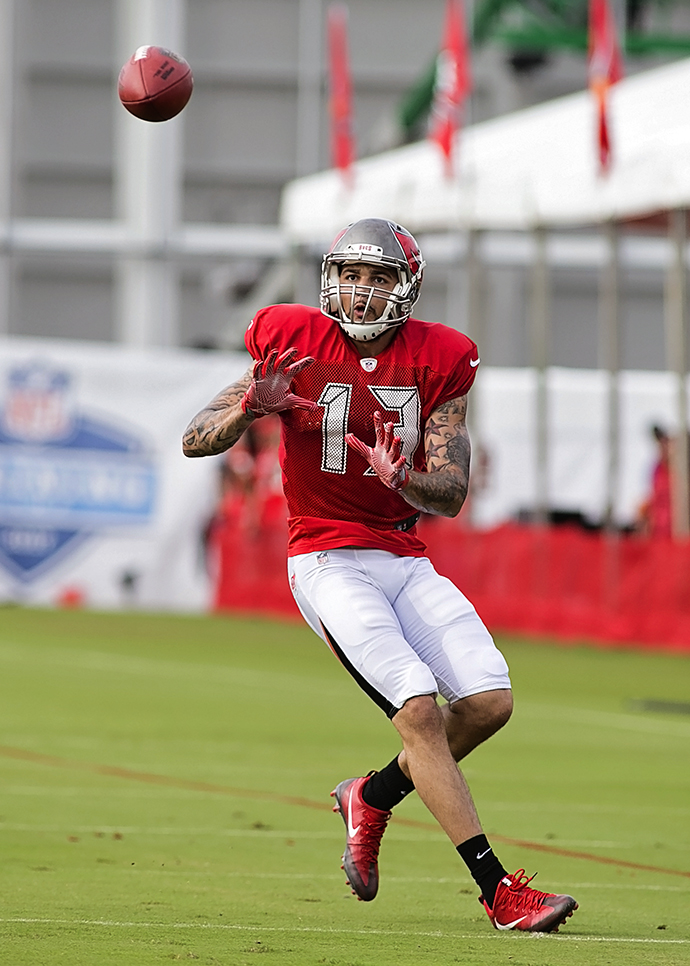 Mike Evans leads the Bucs in production and potential./CARMEN MANDATO