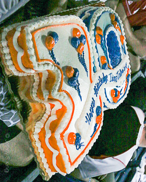 Fans think that Tebow takes the cake./JEFFREY S. KING