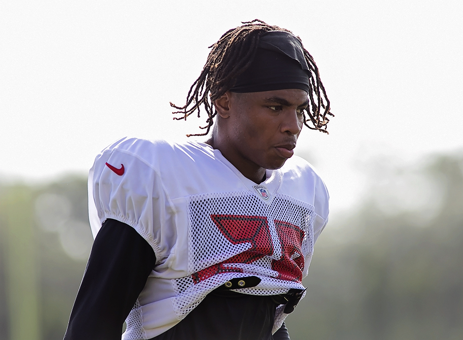Vernon Hargreaves has been impressed with Jackson's speed./CARMEN MANDATO