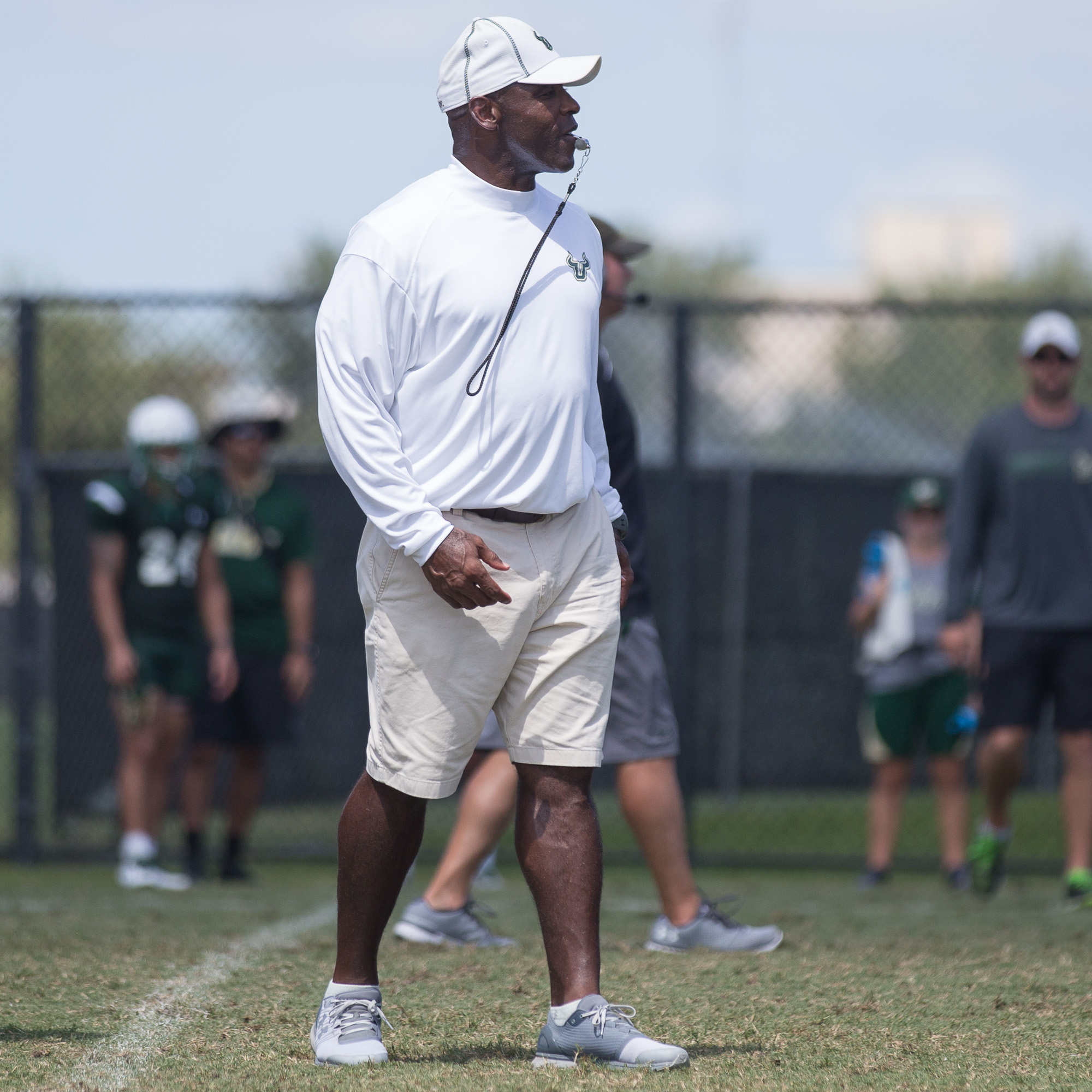 Charlie Strong is the fourth USF coach./STEVEN MUNCIE