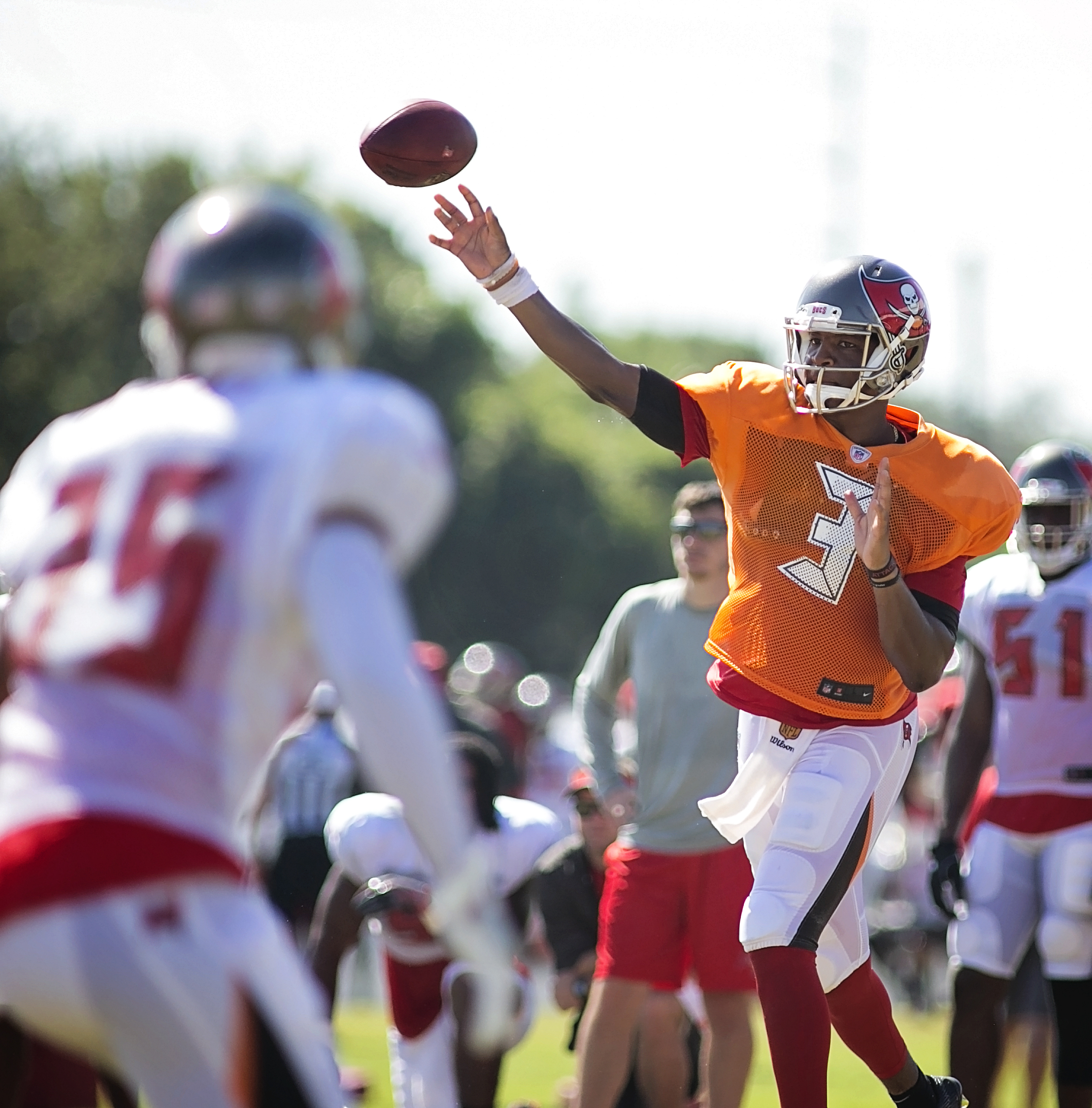 Winston is off to a good start in camp./CARMEN MANDATO
