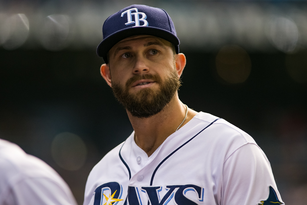 Longoria has been steady at third all year./CARMEN MANDATO