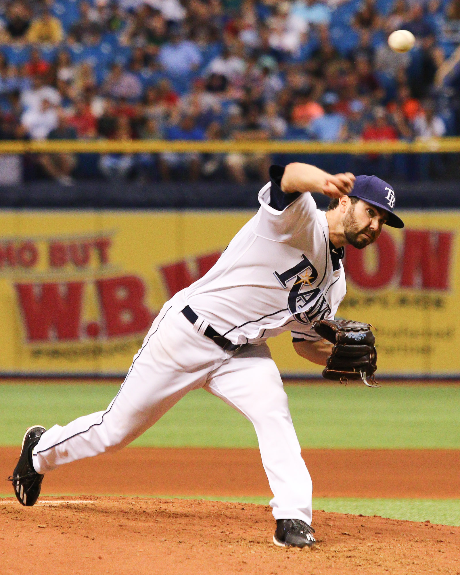 Pruitt gave the Rays' another superb start./ANDREW J. KRAMER