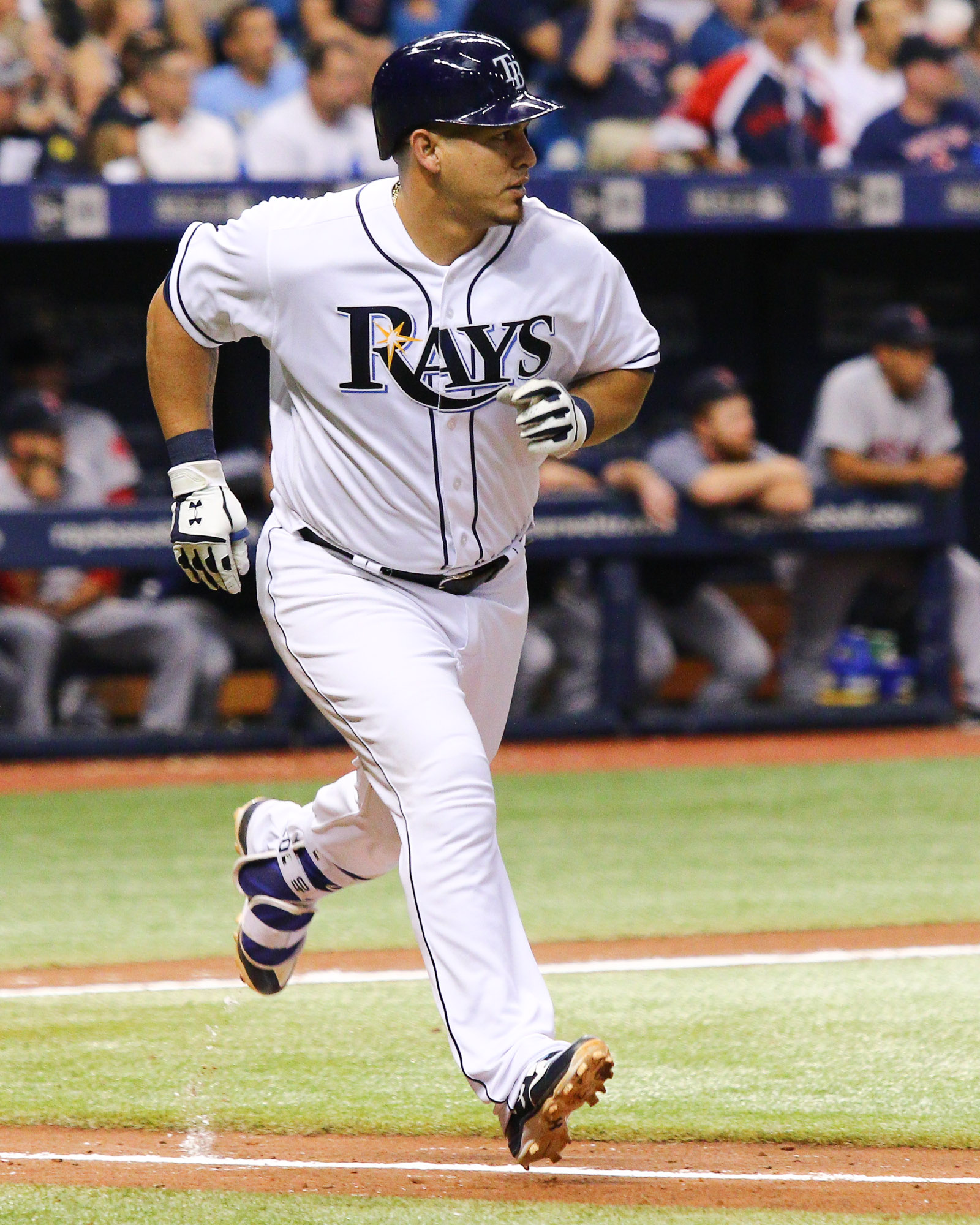 Ramos had one of the Rays' hits./ANDREW J. KRAMER