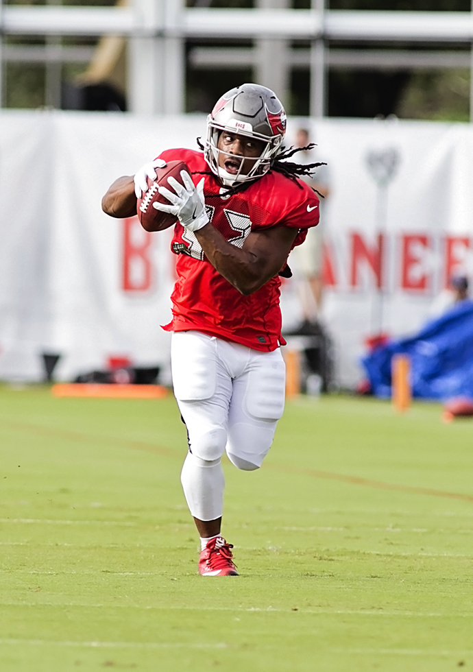 Rodgers figures to open the season as the starting running back./CARMEN MANDATO