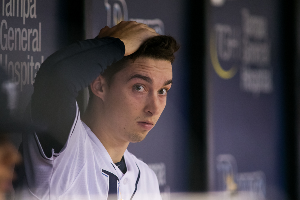 Snell pitched one of his better games in a no-decision./CARMEN MANDATE