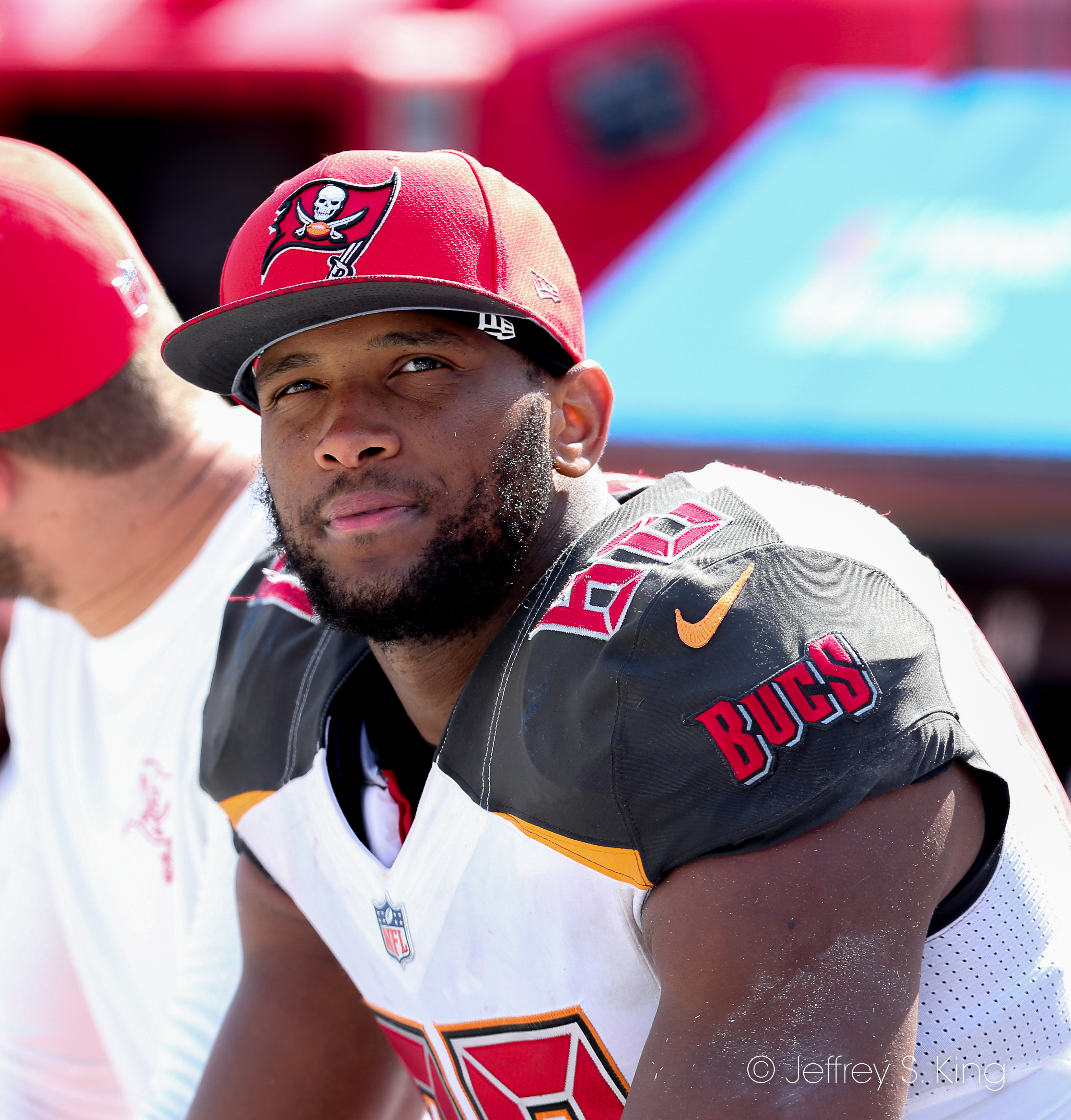 Howard is starting to be a factor for Bucs./KEFFREY S. KING
