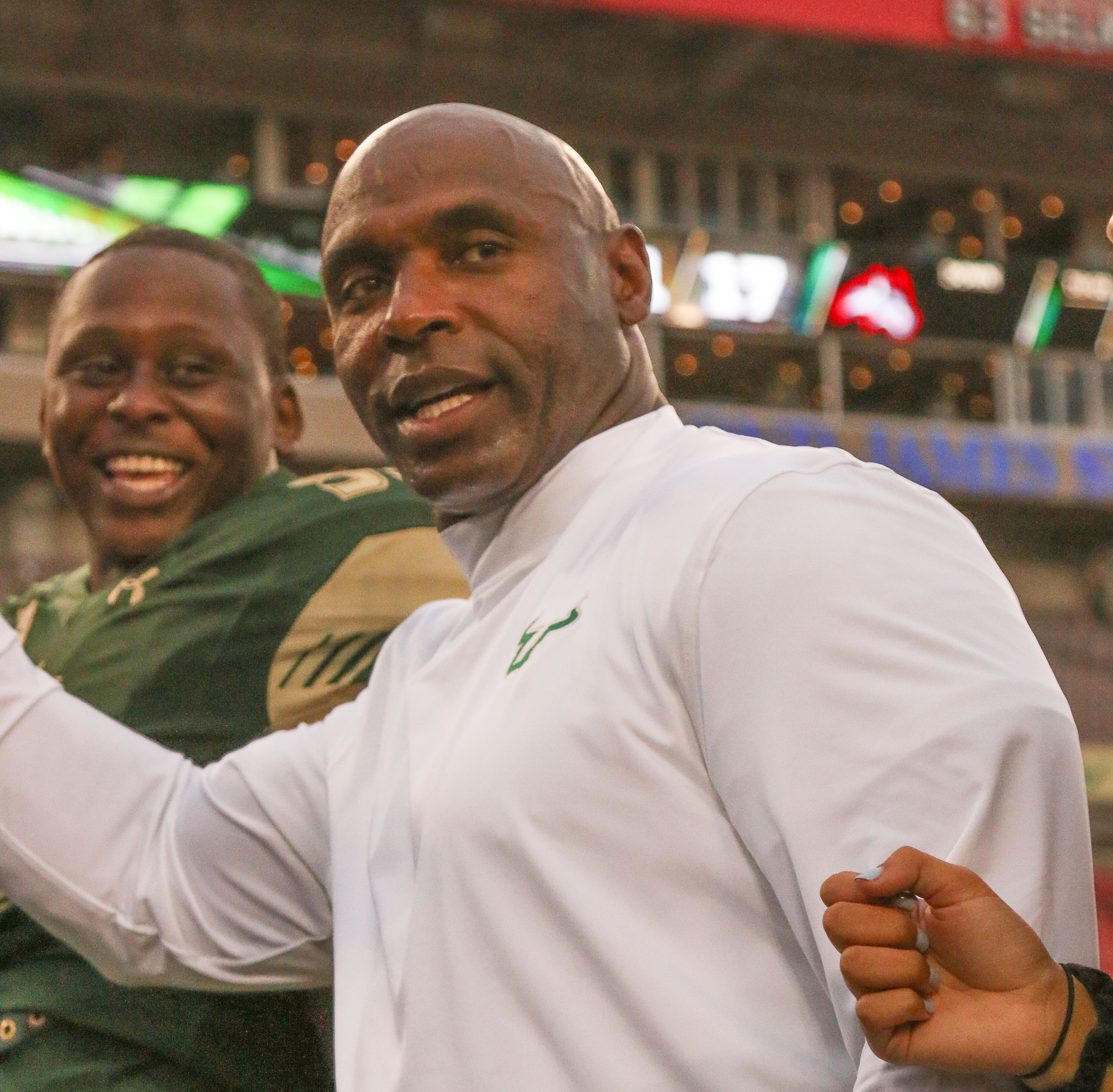 Charlie Strong hoped to get his team going earlier./JEFFREY S. KING