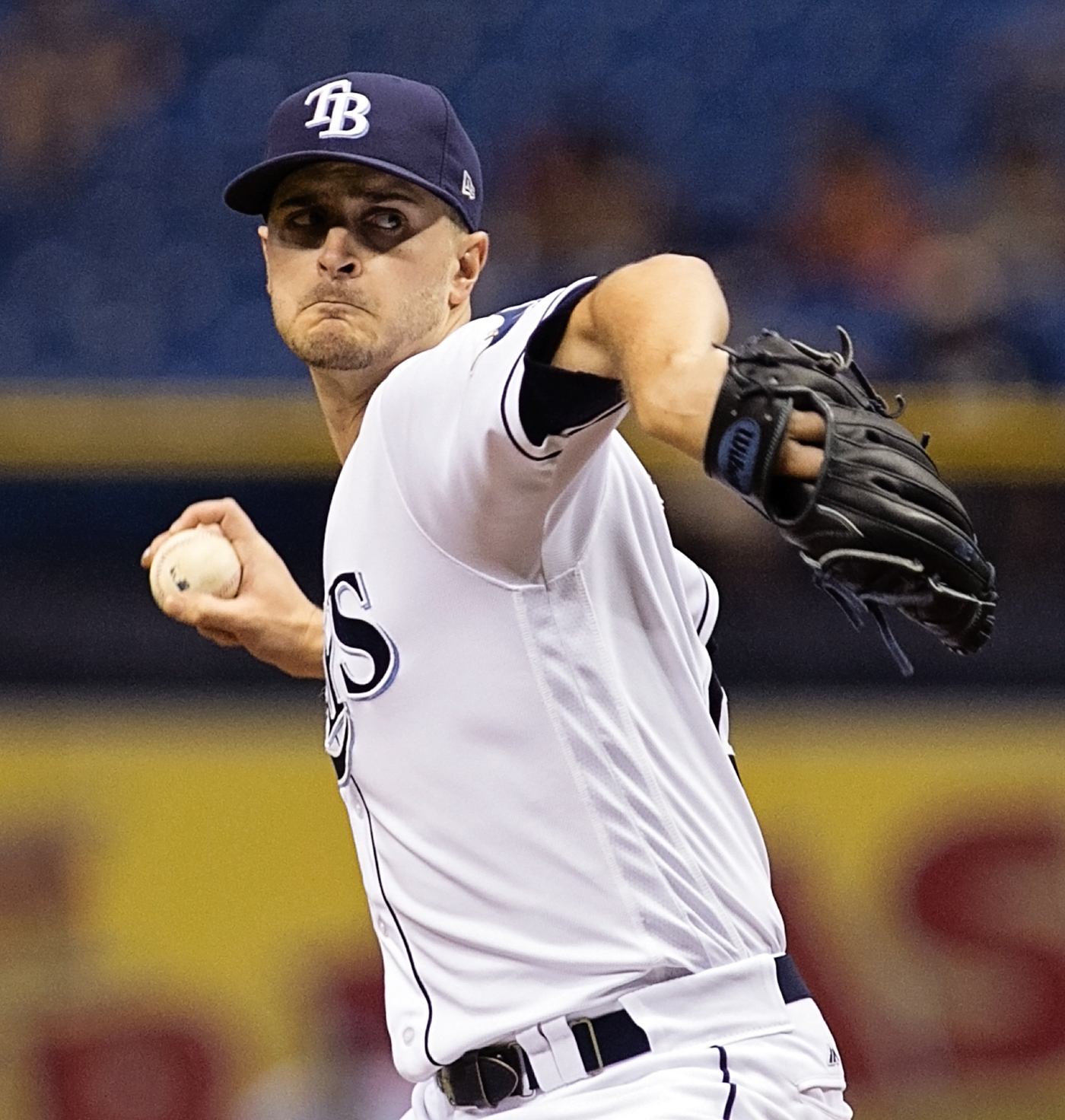 Odorizzi allowed only one hit in  an excellent outing./CARMEN MANDATO