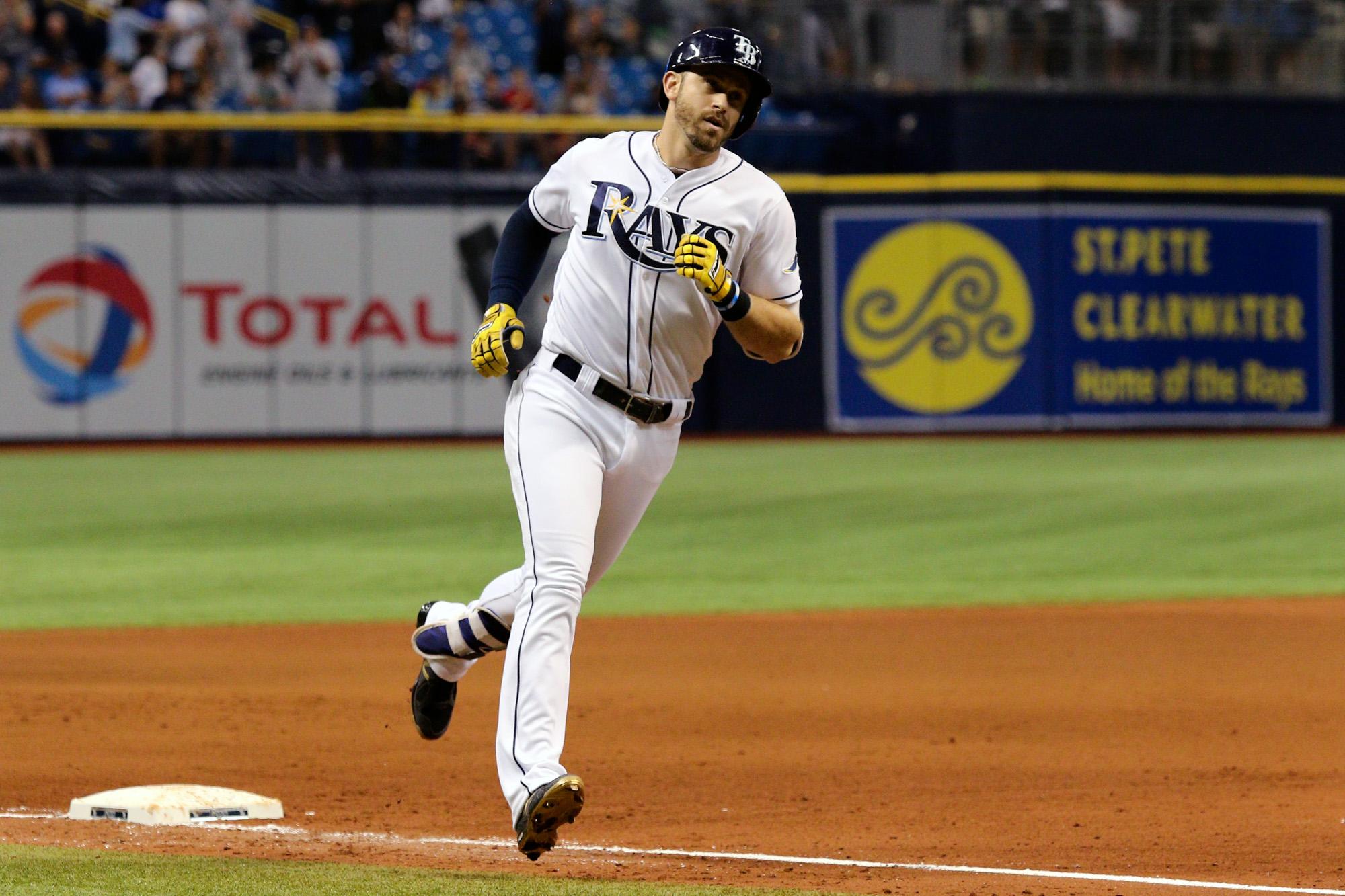 Longoria has hit at least 20 homers in nine of 10 seasons./ANDREW J. KRAMER